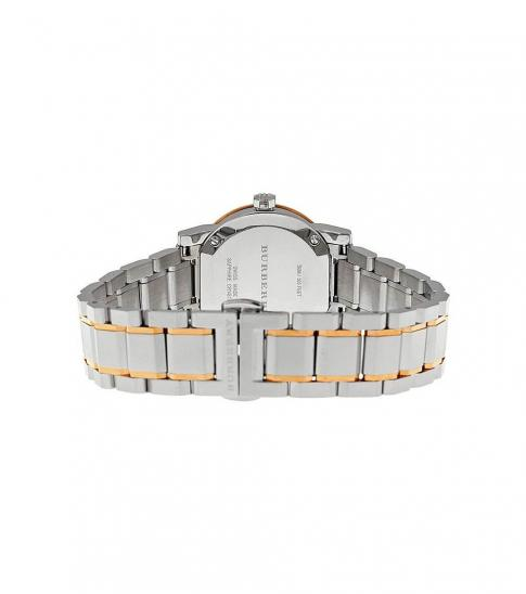 Burberry Gold-Silver Two-Tone Watch