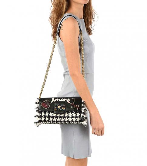 Dolce & Gabbana Black Jewels Small Crossbody