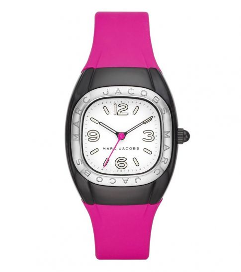 Marc Jacobs Pink Unibody Watch