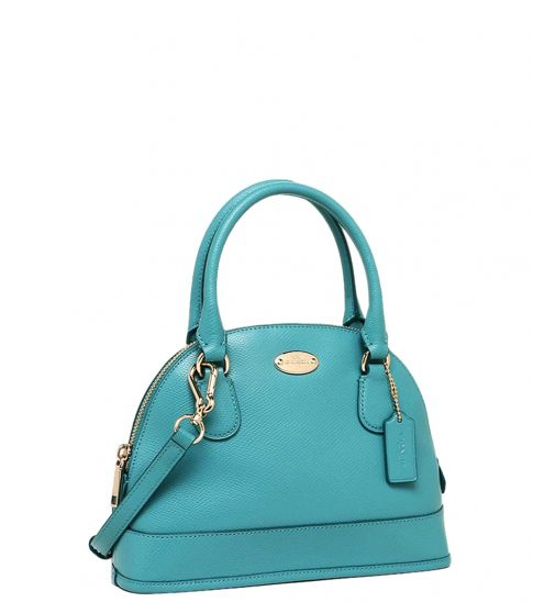 Coach Aqua Cora Domed Small Satchel