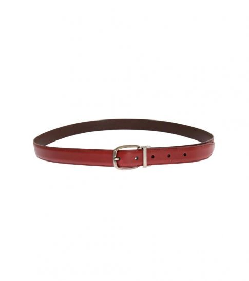 Dolce & Gabbana Red Gold Buckle Belt