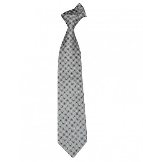 Burberry Grey Dapper Floral Silk Tie