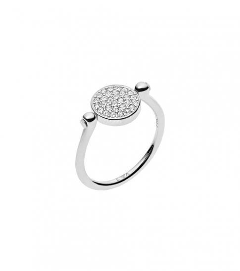 Emporio Armani Silver Decorative Ring