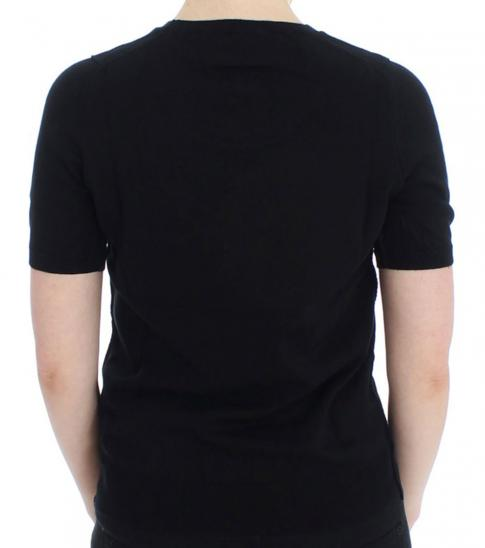 Dolce & Gabbana Black Solid T-Shirt