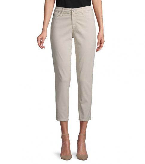 AG Adriano Goldschmied Mineral Mid-Rise Crop Jeans