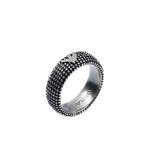 Emporio Armani Black Exquisite Ring