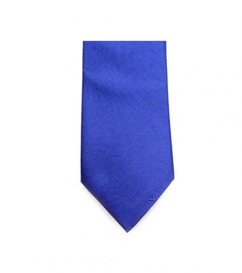Michael Kors Blue Well Tailored Slim Silk Tie