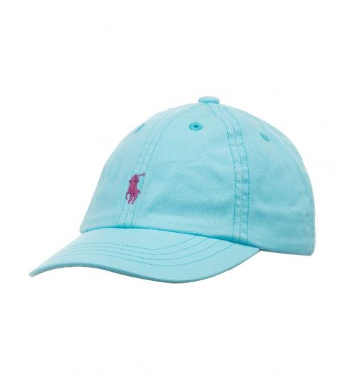 Ralph Lauren Blue Classic Pony Cap