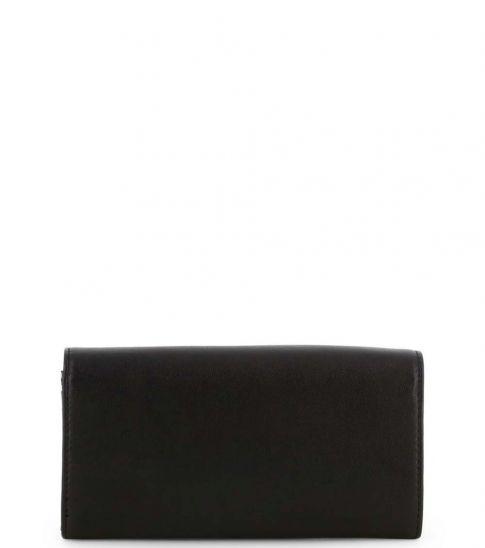 Love Moschino Black Studded Heart Clutch
