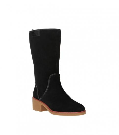 Coach Black Suede Palmer Boots for