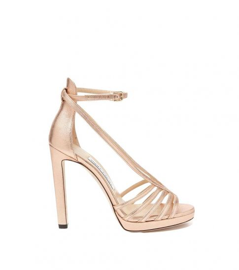 Jimmy Choo Pink Federica Heels