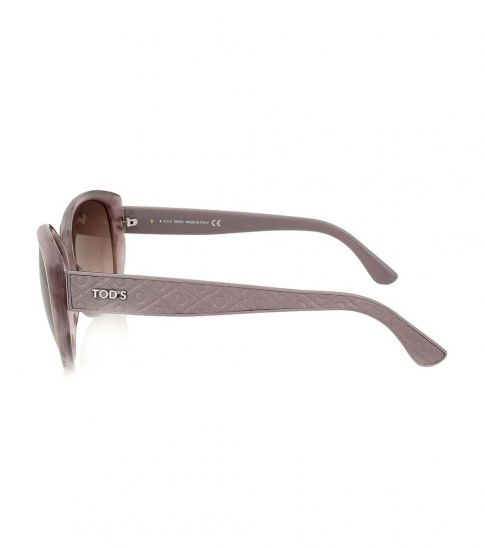 Tod's Grey Side Logo Sunglasses
