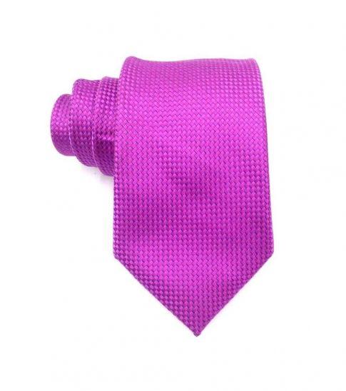 Michael Kors Pink Traditional  Skinny Silk Tie