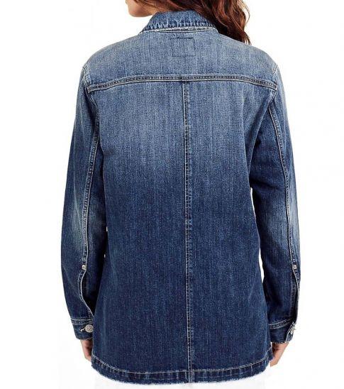True Religion Denim Patchwork Groovy Jacket
