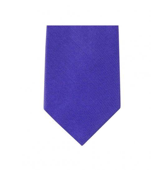 Michael Kors Blue Modern Slim Silk Tie