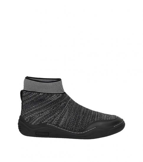 Lanvin Grey Slip On Sneakers