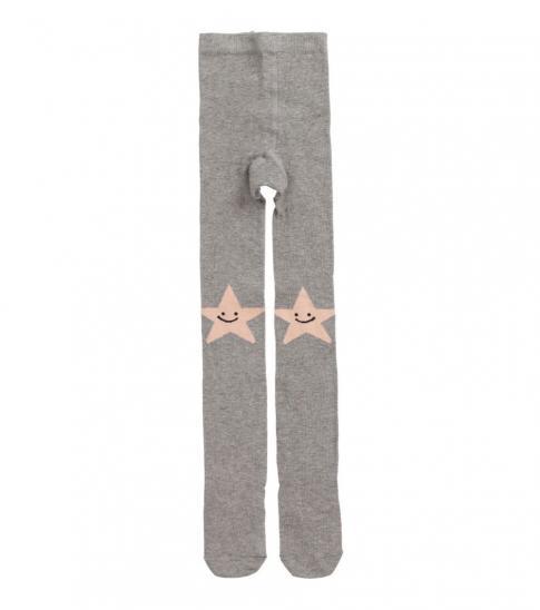 Stella McCartney Girls Grey & Pink Tights