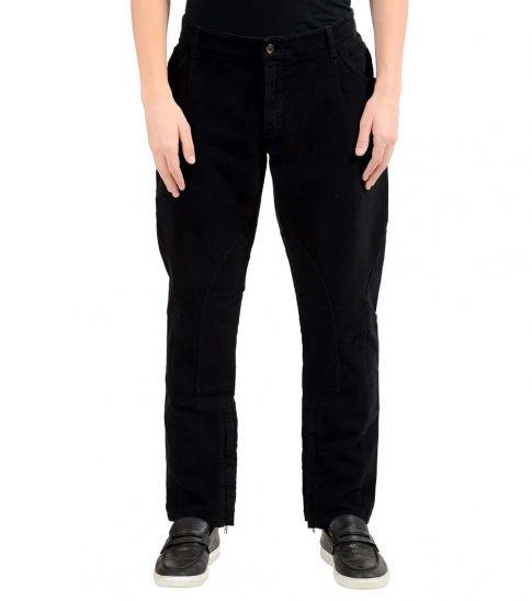 Dolce & Gabbana Black Cotton Pants