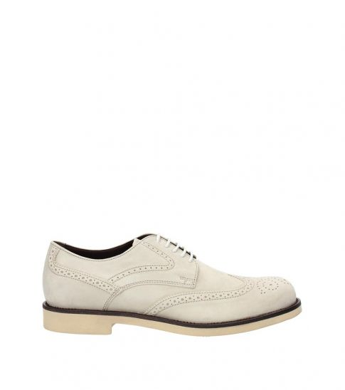 Tod's Clay Wingtip Lace Ups