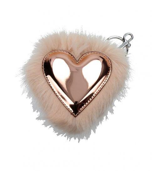 Stella McCartney Pink Metallic Key Holder