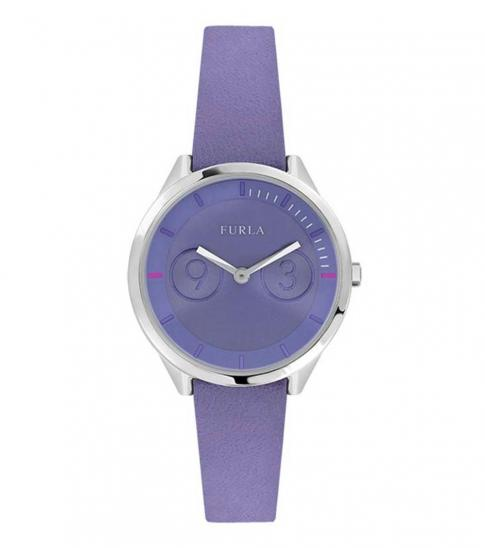 Furla Purple Metropolis Gleaming Watch
