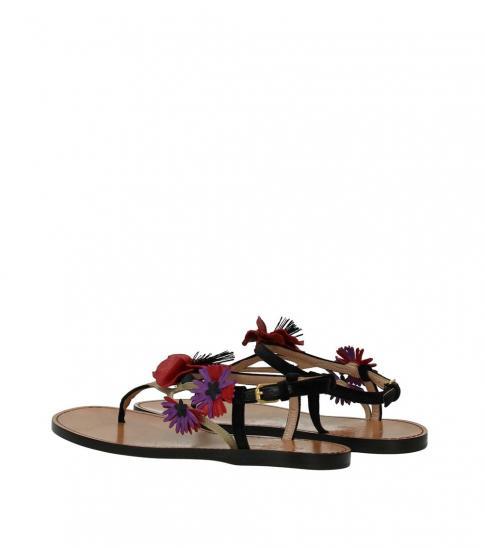 Valentino Garavani Multicolor Floral Flats