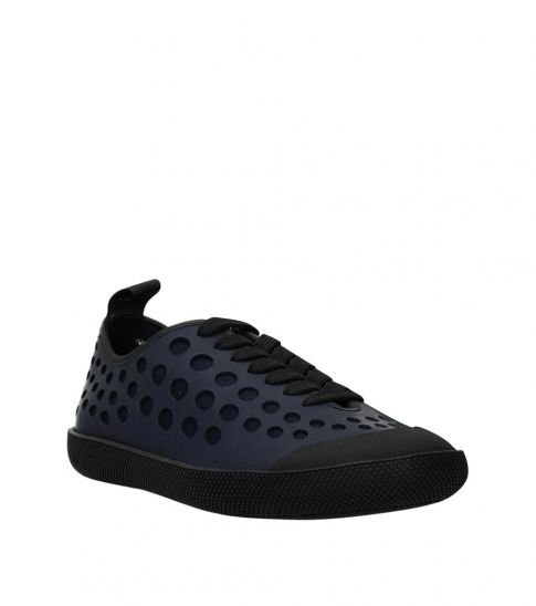 Prada Blue Low Top Sneakers
