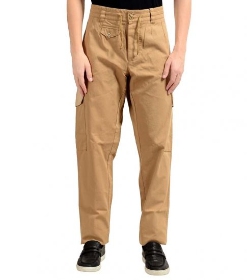 Dolce & Gabbana Beige Cargo Casual Pants