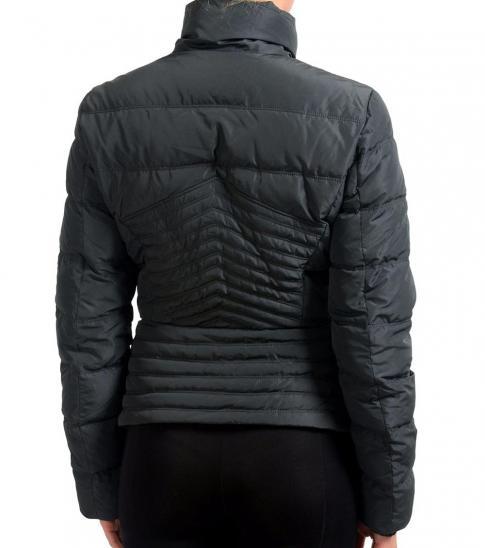 Versace Collection Black Goose Down Parka Jacket