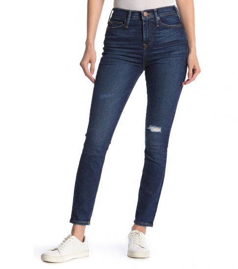 True Religion Denim High Waist Super Skinny Jeans