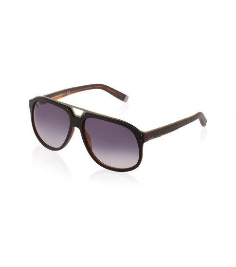 Dsquared2 Black-Brown Full Rim Sunglasses
