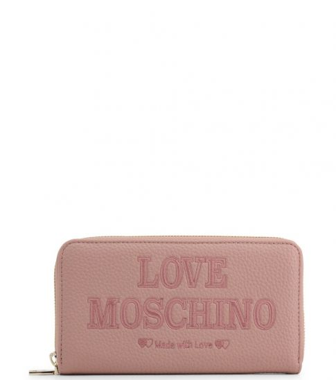Love Moschino Pink Made With Love Wallet
