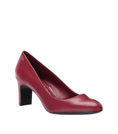 Calvin Klein Barn Red Oska Heels