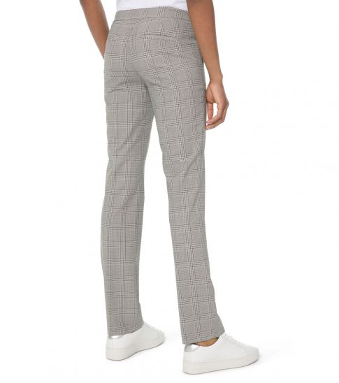 Michael Kors Grey Glen Plaid Trousers
