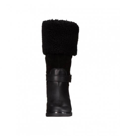 Coach Black Parka Boots