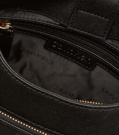 Calvin Klein Black Ava Medium Hobo