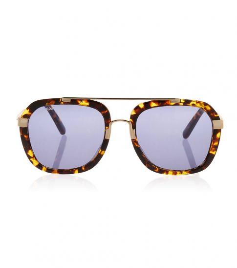 Dsquared2 Brown-Blue Square Sunglasses