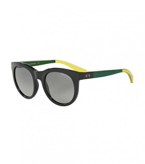 Armani Exchange Black Grey Lens Sunglasses