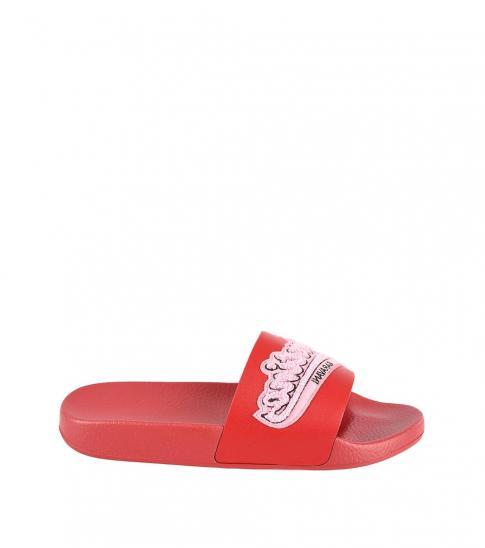 Valentino Garavani Red Front Logo Slides