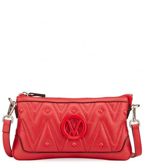 Mario Valentino Poppy Red Abigail D Sauvage Medium Crossbody