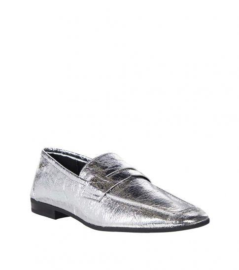 Calvin Klein Silver Barolo Loafers