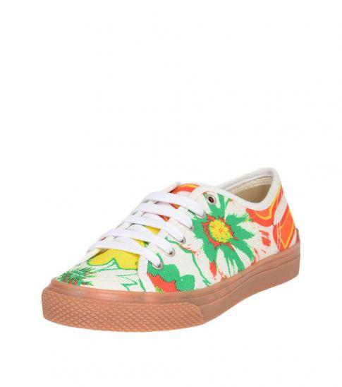 Stella McCartney Multicolor Floral Print Sneakers