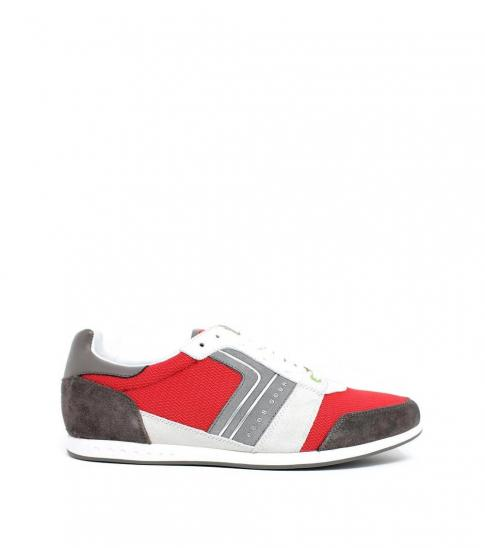 Hugo Boss Red Faster Road Sneakers