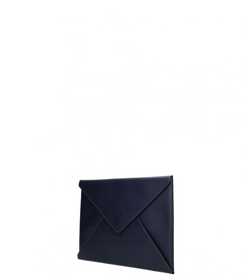 Marni Blue Envelope Clutch