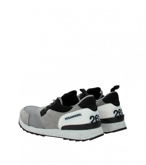 Hogan Grey Suede Sneakers
