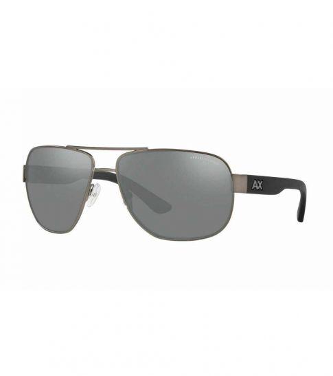 Armani Exchange Metal Mirror Sunglasses