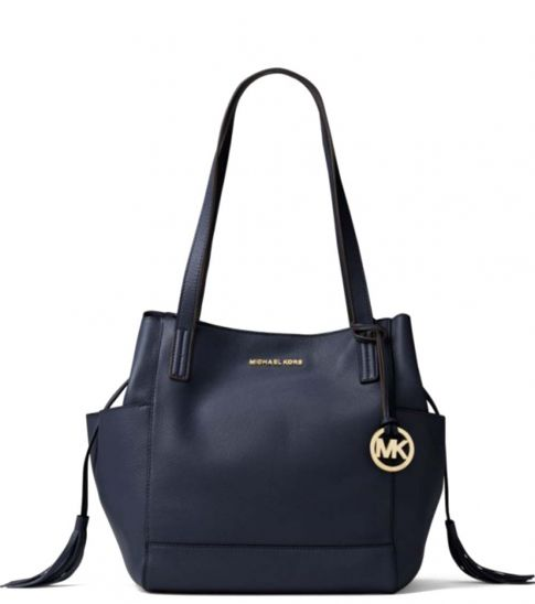Michael Kors Navy Ashbury Large Tote
