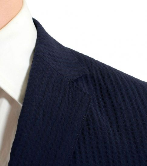 Hugo Boss Blue Wool Two Button Suit