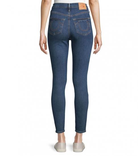 True Religion Flower Bud Super Skinny Jeans
