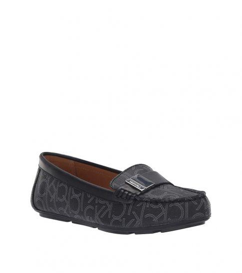Calvin Klein Black Lisa Signature Loafers